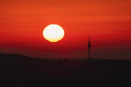 Sonnenaufgang im Saarland