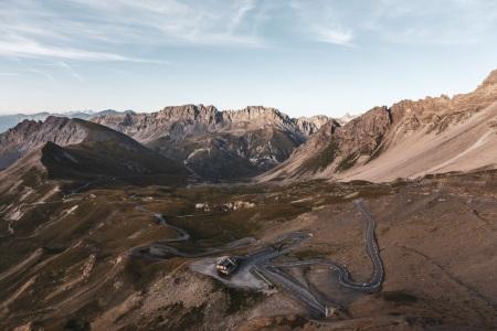 Passstraße zum Col du Galibier