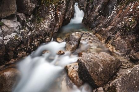 Wasserfall am Lac de Gaube
