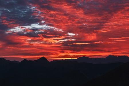 Sonnenaufgang am Col d'Aubisque