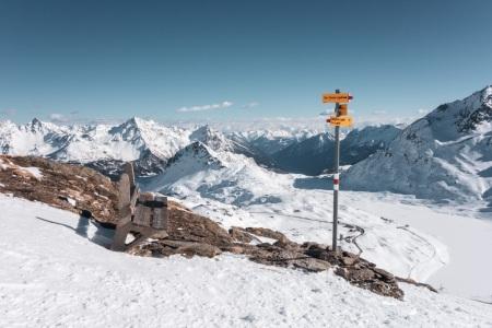 Am Piz Lagalb über dem Berninapass