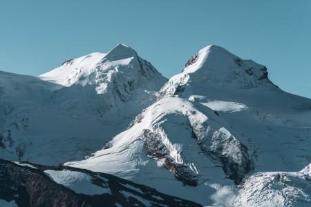 Castor und Pollux in den Walliser Alpen
