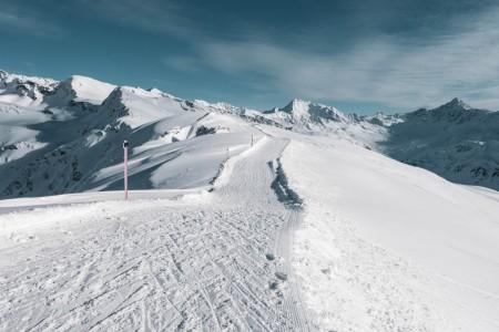 Winterwanderweg auf der Pischa in Davos