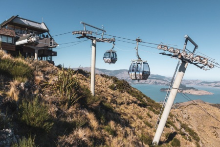 Christchurch Gondola in Neuseeland