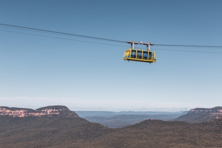 Scenic Skyway in den Blue Mountains in Australien