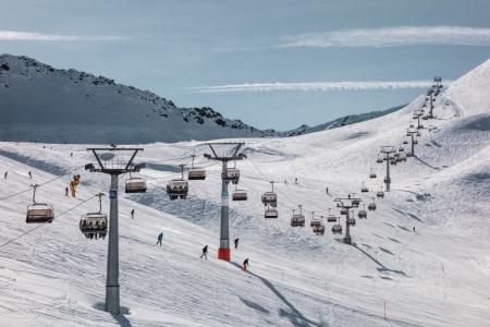 Totalp im Skigebiet Parsenn in Davos