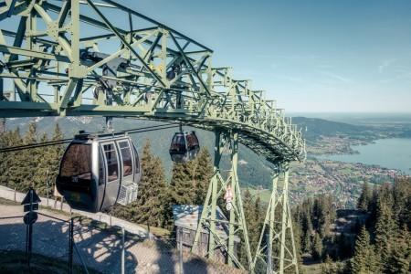 Wallbergbahn in Rottach-Egern am Tegernsee