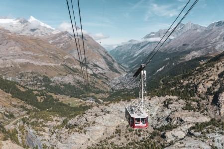 Furi-Trockener Steg in Zermatt