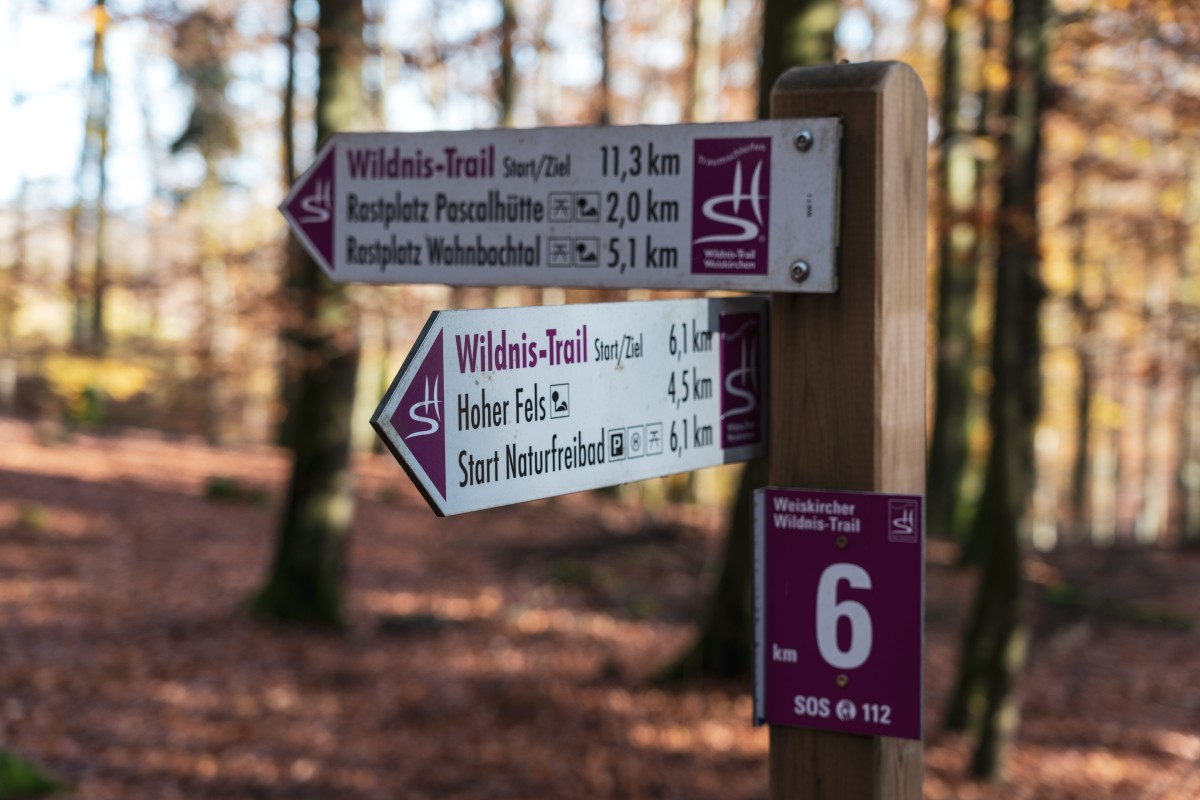 Weiskircher Wildnis-Trail im Herbst