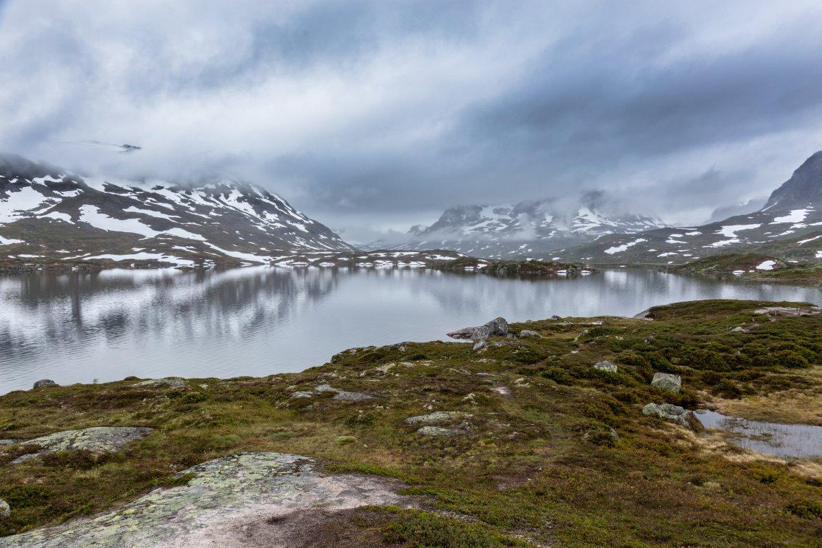 Fotografieren im Regen in Skandinavien
