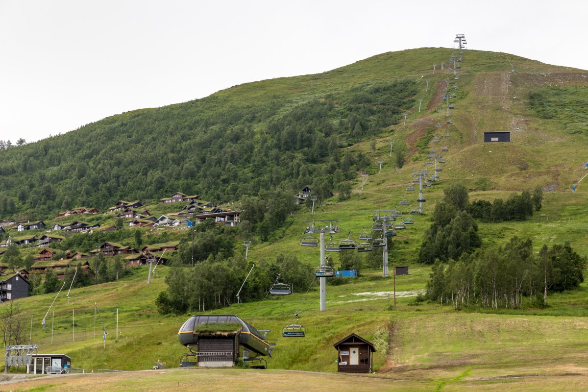 Skigebiet Myrkdalen