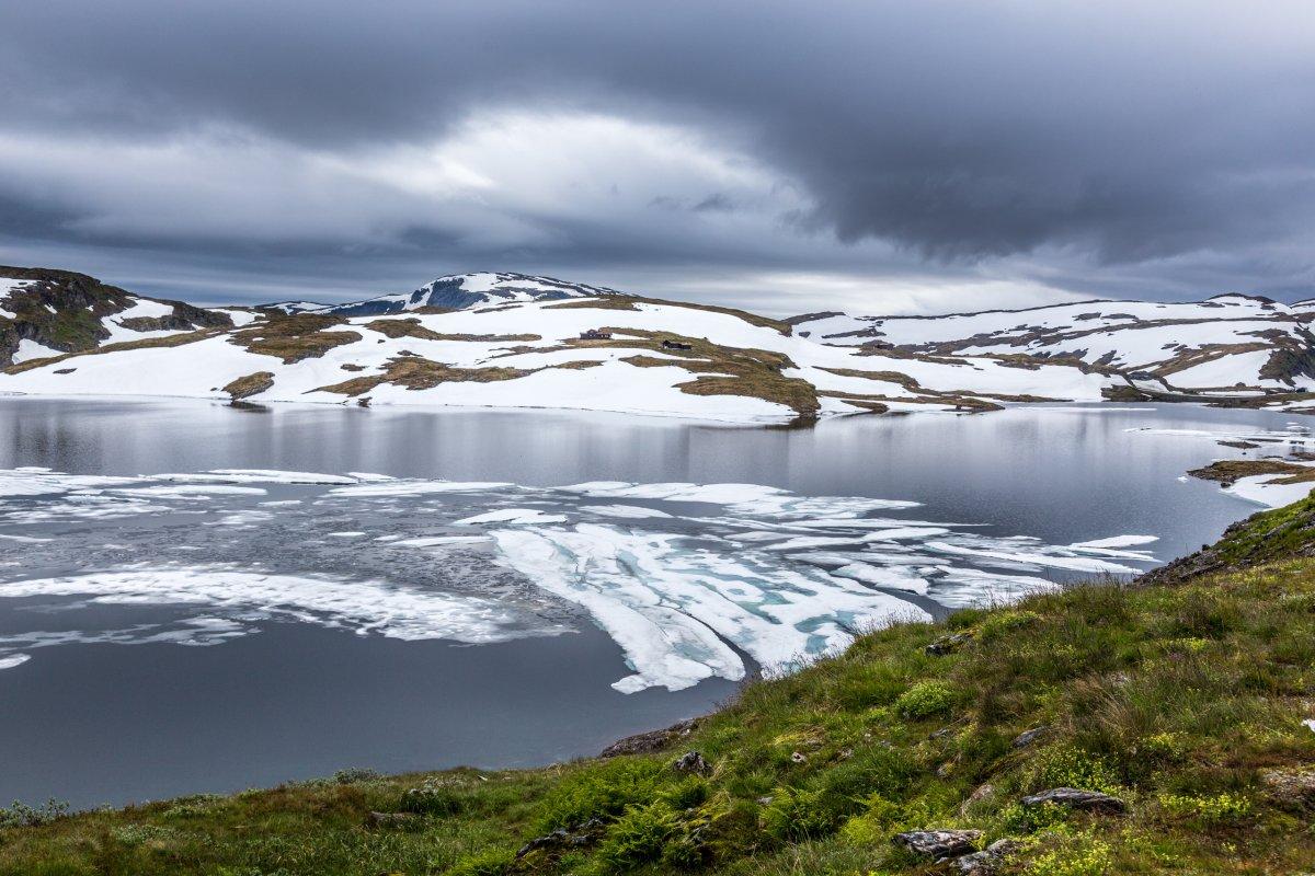 Vikafjellet in Norwegen