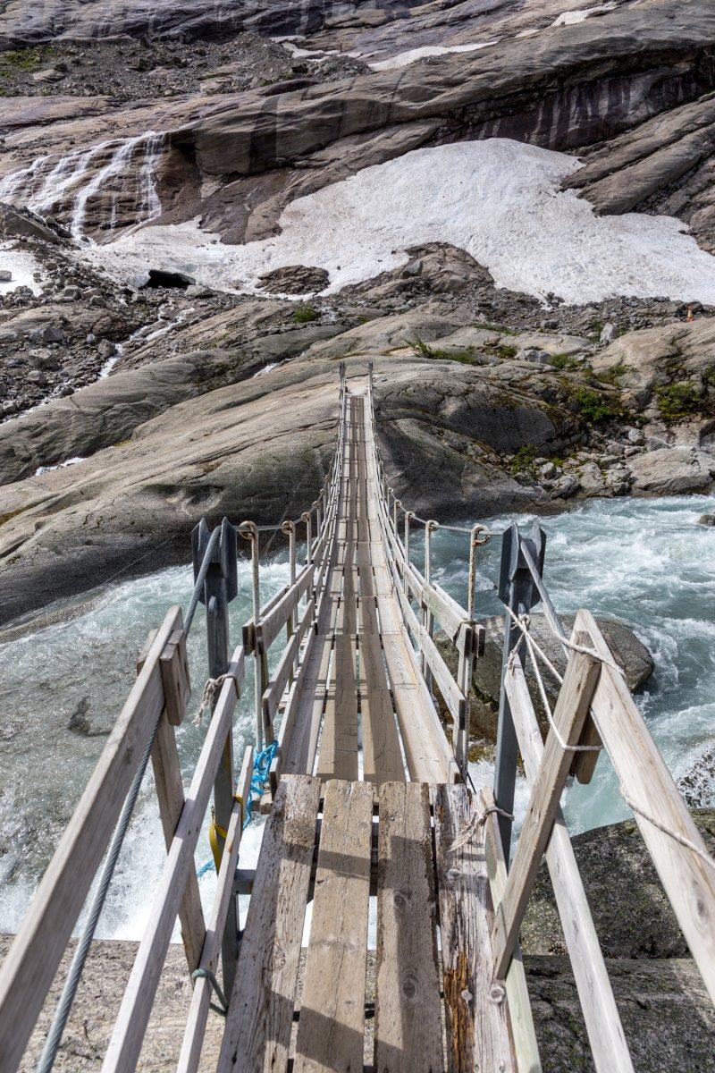 Brücke am Nigardsbreen