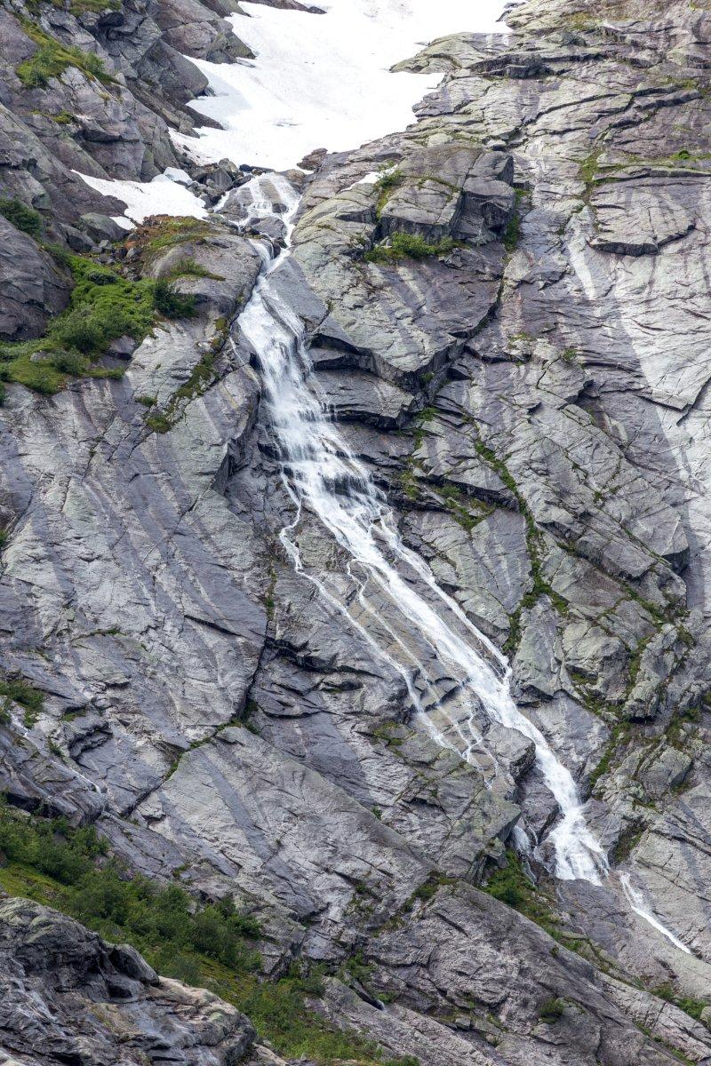 Wasserfall am Nigardsbreen