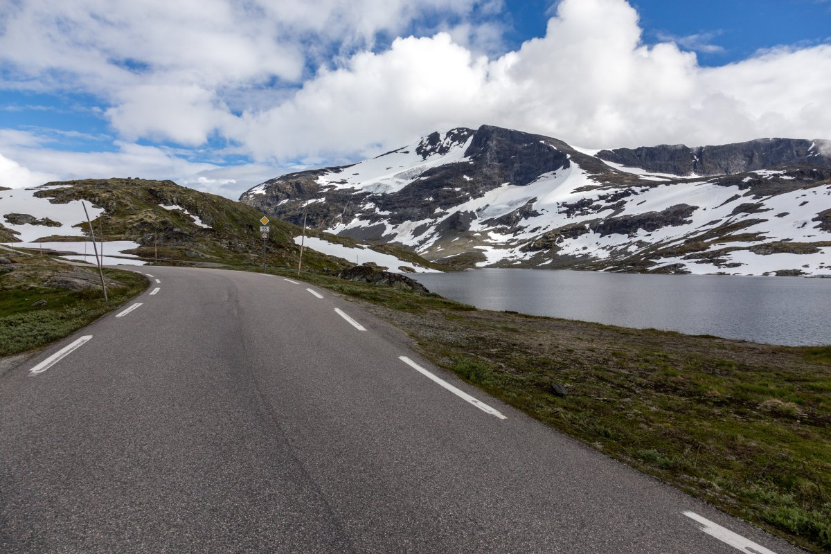 Straße zum Sognefjellet