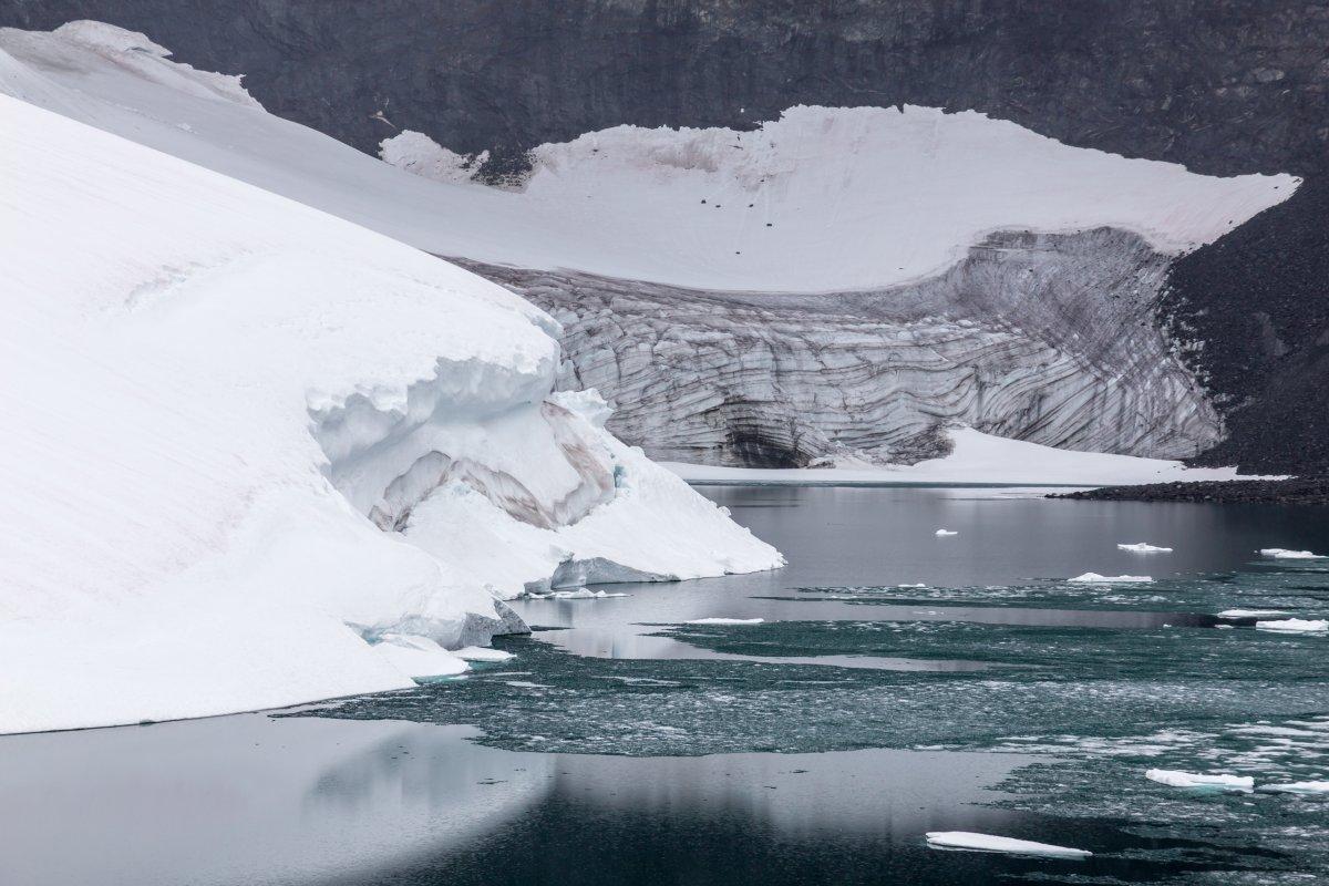 Gletschersee am Galdhøppigen