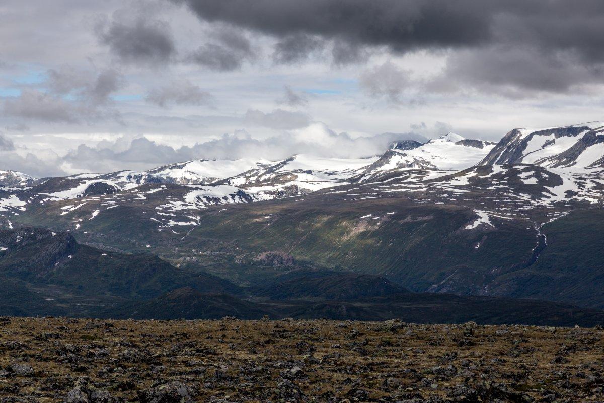 Ausblick vom Galdhøppigen