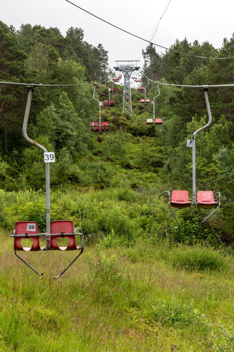 Sesselbahn in Spjelkavik