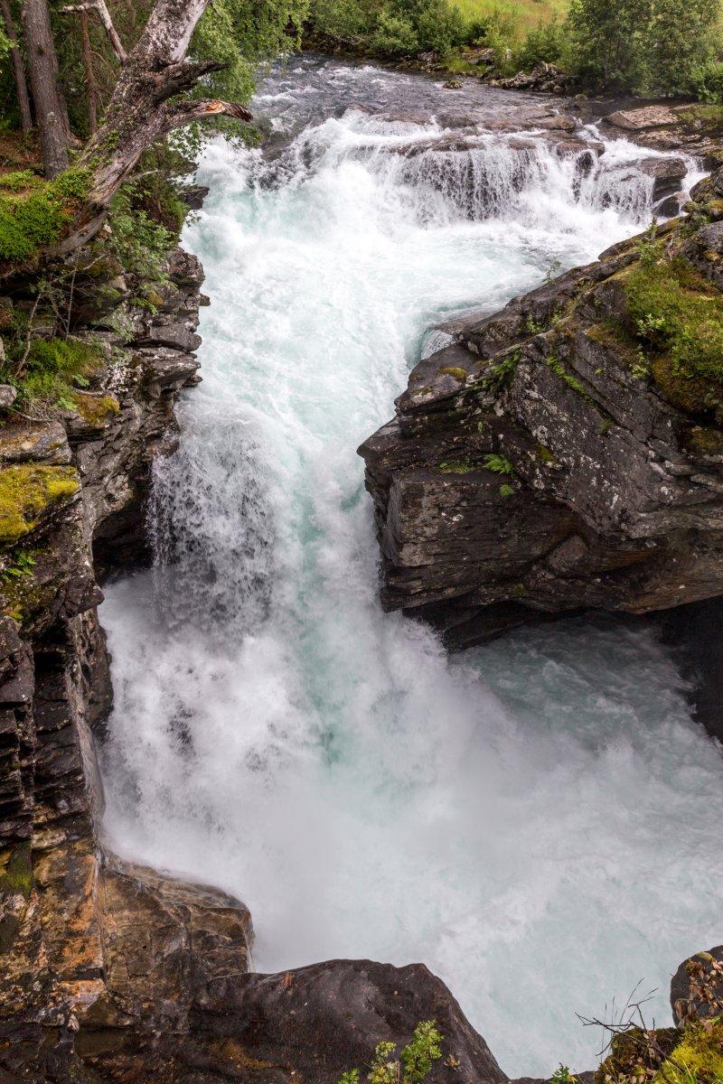 Wasserfall nahe Trollstigen