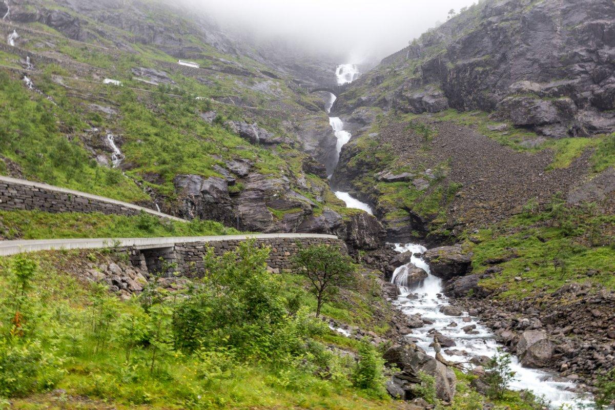 Stigfossen am Trollstigen