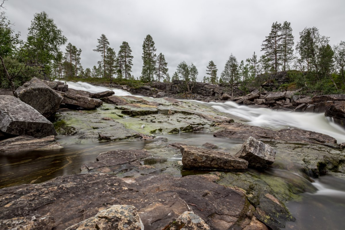 Wasserfall auf dem Dovrefjell