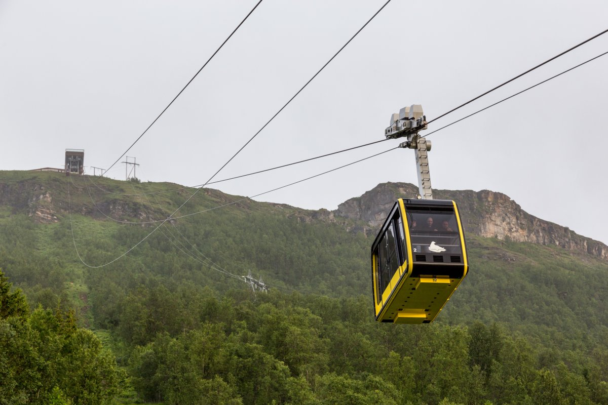 Luftseilbahn Fjellheisen in Tromsø