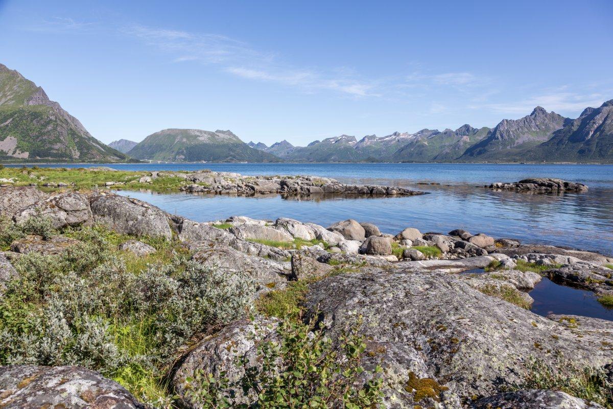 Landschaft auf den Lofoten