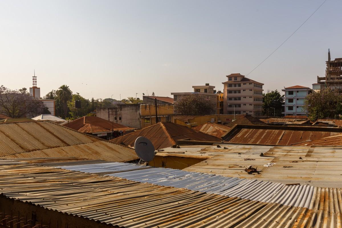 Über den Dächern von Arusha