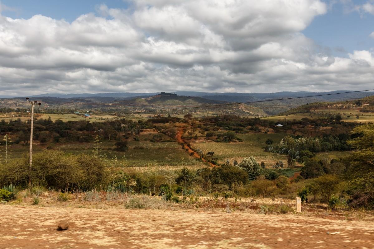 Straße von Mto wa Mbu zum Ngorongoro