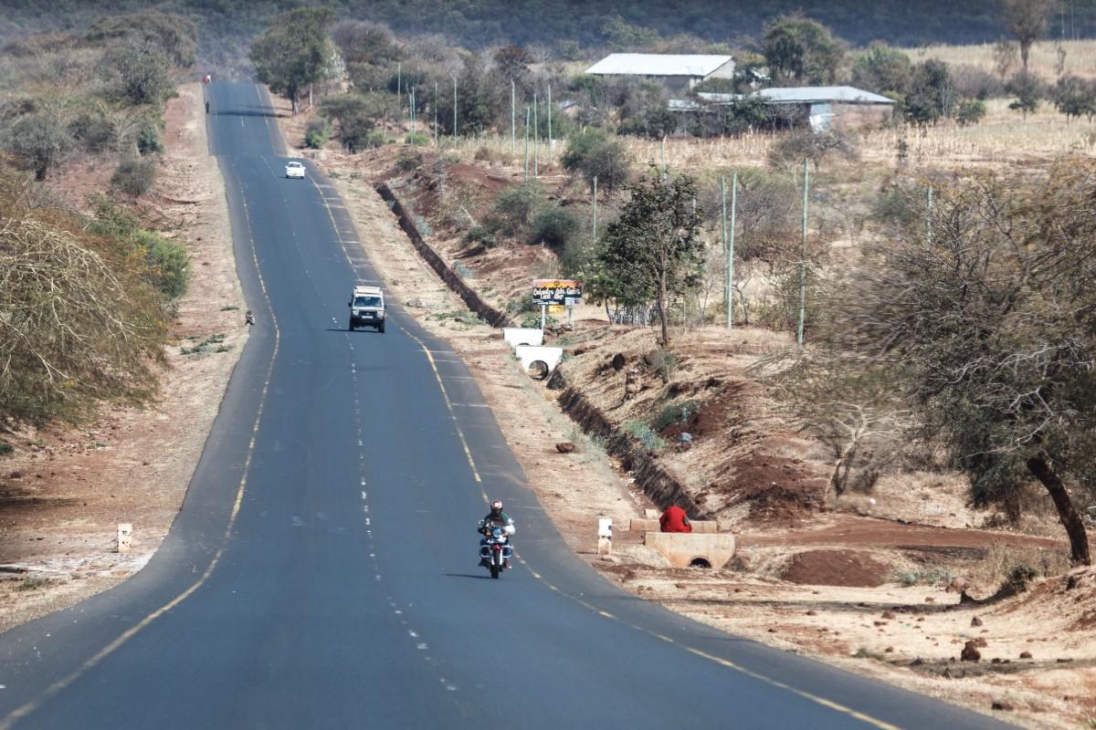 Straße von Mto wa Mbu zum Ngorongoro-Krater
