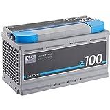 ECTIVE 100Ah 12V AGM Batterie DC 100 VRLA Versorgungsbatterie in 7 Varianten: 70Ah - 230 Ah (wartungsfrei)