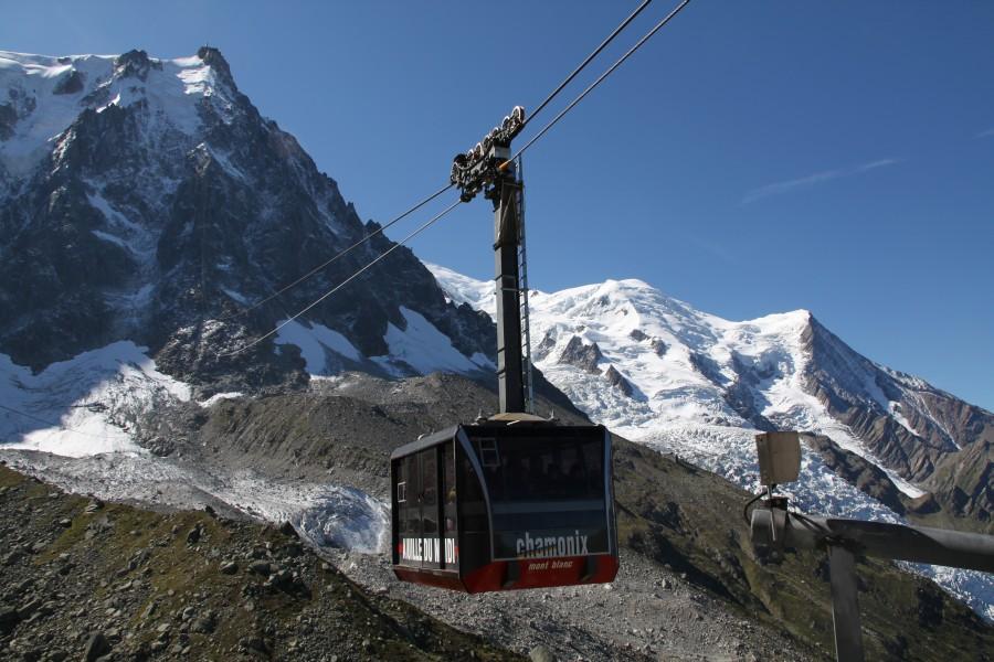 Chamonix - Aiguille du Midi • Natur und Ingenieurskunst