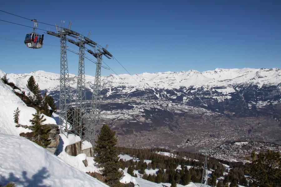 Vercorin - Crêt du Midi • Tausend Höhenmeter Giovanola