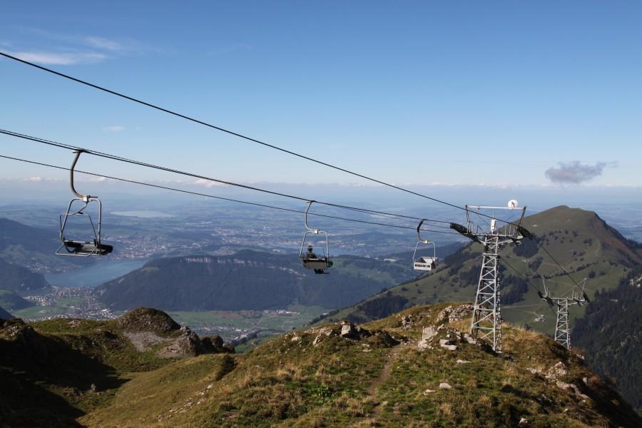 Am Drahtseil durch die Zentralschweiz