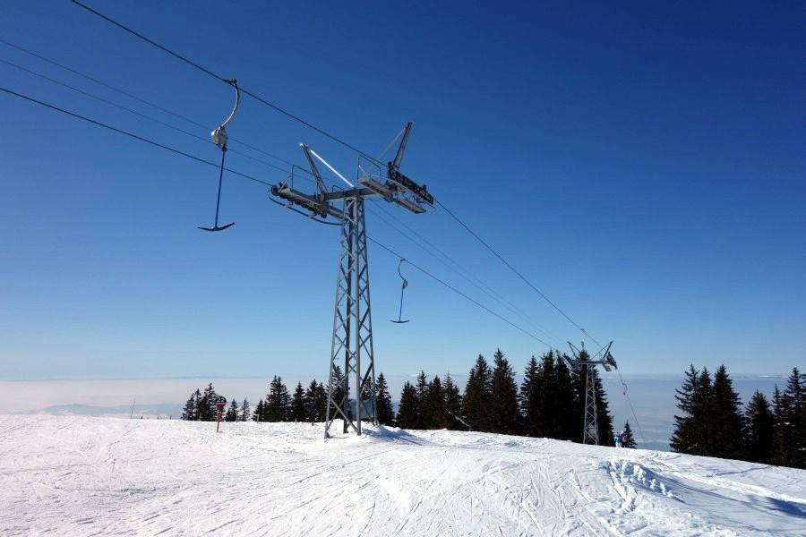 Abschiedsfahrten im nostalgischen Skigebiet von La Berra