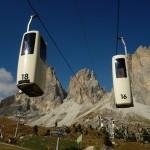 Südtirol im Oktober 2013 • Von der Skipiste zum Korblift