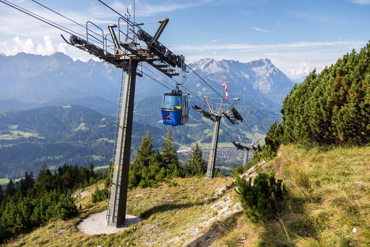 Kabinenbahn Garmisch-Partenkirchen - Wank