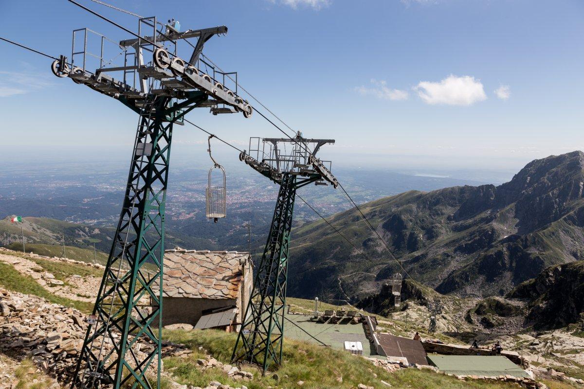 Korblift Oropa - Monte di Camino