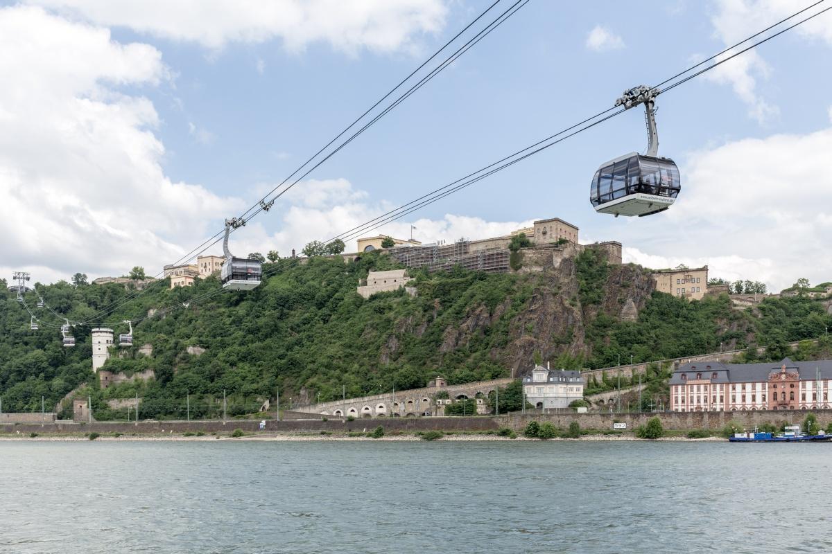 Rheinseilbahn Koblenz - Ehrenbreitstein
