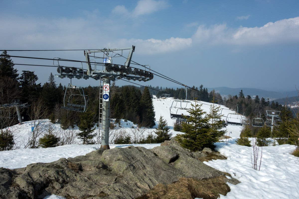 Gérardmer • Entspanntes Frühjahrsskifahren in den Vogesen