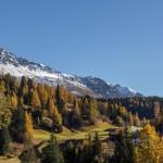 Novemberhoch in Graubünden