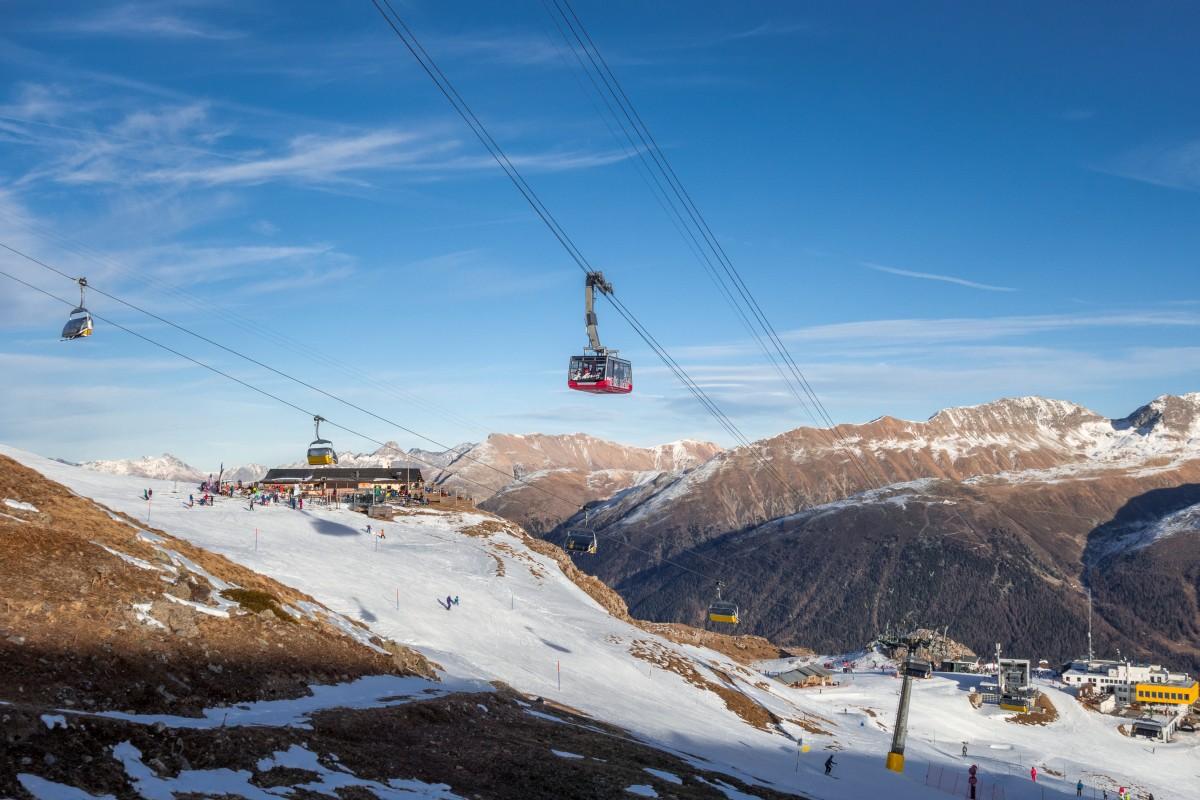 Engadin - St. Moritz - Corviglia • Flucht in den Süden II