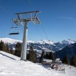 Tschiertschen • Skifahren im Auge des Sturms