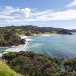 Einöde an der neuseeländischen Pazifikküste