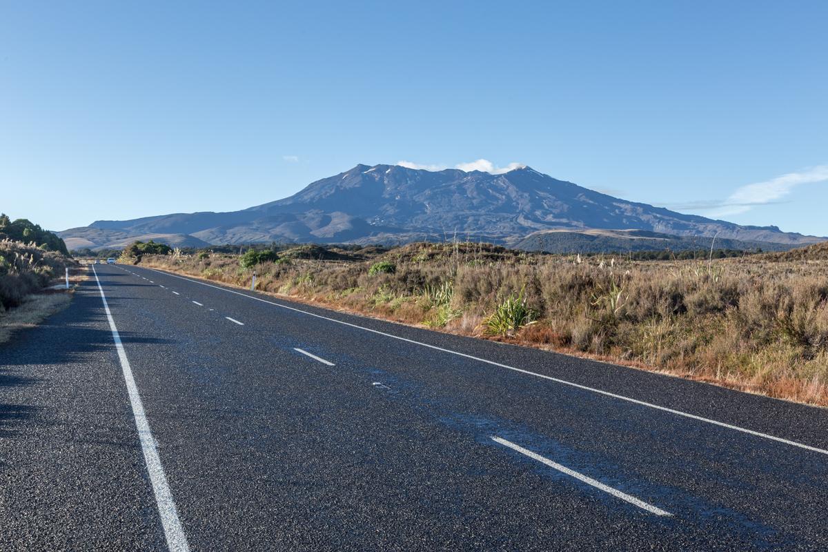 Whakapapa im Tongariro National Park