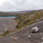 Widrige Bedingungen an den Tama Lakes