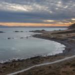 Der improvisierte Sonnenuntergang am Cape Palliser