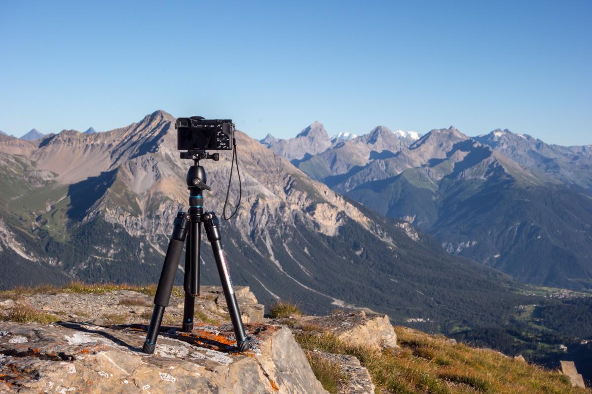 Kameraausrüstung auf Reisen