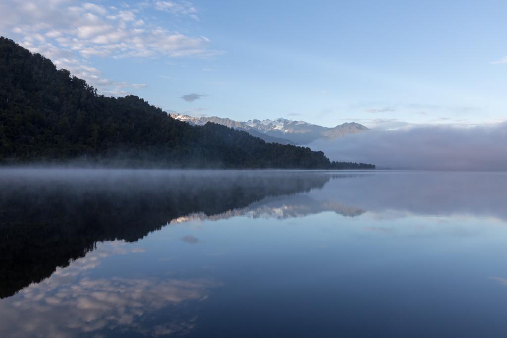 Morgenstimmung am Lake Mapourika