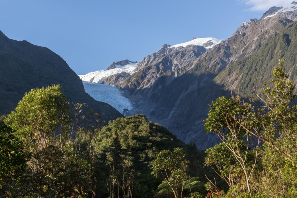 Franz Josef Glacier am frühen Morgen